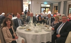 Guests enjoying the evening at the Greystones Golf Club